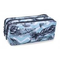 Trzykomorowa saszetka piórnik szkolny Coolpack Primus Surf Palms, B60021