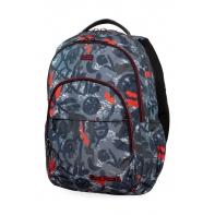 Młodzieżowy plecak szkolny CoolPack Basic Plus 27L, Red Indian, B03005