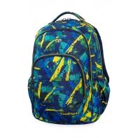 Młodzieżowy plecak szkolny CoolPack Basic Plus 27L, Abstract Yellow, B03007