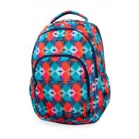 Młodzieżowy plecak szkolny CoolPack Basic Plus 27L, Magic Leaves, B03013