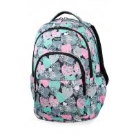 Młodzieżowy plecak szkolny CoolPack Basic Plus 27L, Minty Hearts, B03018