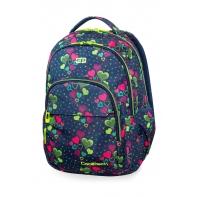 Młodzieżowy plecak szkolny CoolPack Basic Plus 27L, Lime Hearts, B03010