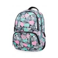 Młodzieżowy plecak szkolny CoolPack Spiner 27L, Minty Hearts, B01018