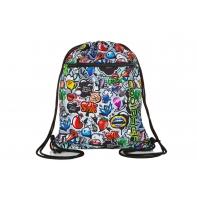 Worek na obuwie Coolpack Shoe Bag, Vert Led Graffiti, A70201