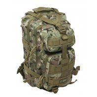 Dwukomorowy plecak St.Right 25 L, Navy Military BP43