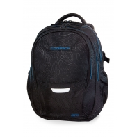 Młodzieżowy plecak szkolny CoolPack Factor 29L, Topography Blue, B02003