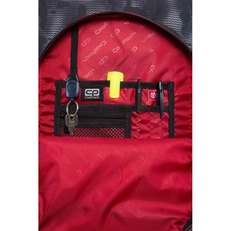 a2abc4f472fde Plecak szkolny na kółkach CoolPack Swift 29L, Misty Red, B04006