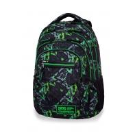 Młodzieżowy plecak szkolny CoolPack College Tech 25L, Electric Green, B36099