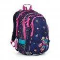 Plecak szkolny dwukomorowy dla dziewczynki Topgal LYNN 19008