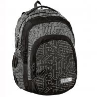 Lekki plecak szkolny Paso, płytka elektroniczna