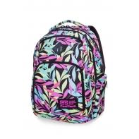 Młodzieżowy plecak szkolny CoolPack Break 30 l, Pastel Leaves B24050