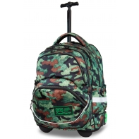 Plecak szkolny na kółkach CoolPack Starr 27 L, Como Fusion Green
