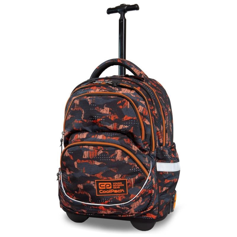 1193ccc31dcbe Plecak szkolny na kółkach CoolPack Starr 27 L, Orango B35098
