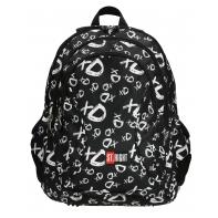Trzykomorowy plecak szkolny St.Right 29 L, XD BP2
