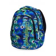 Lekki plecak szkolny CoolPack Prime 23L, WIGGLY EYES BLUE B25034