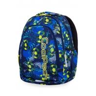 Lekki plecak szkolny CoolPack Prime 23L, FOOTBALL BLUE B25037