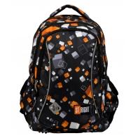 Dwukomorowy plecak szkolny St.Right 19 L, Cubes BP26