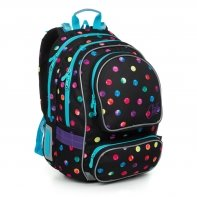 Plecak szkolny dwukomorowy dla dziewczynki Topgal ALLY 19009