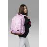 Dwukomorowy plecak szkolny St.Right, Blossom BP47