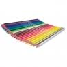 Kredki ołówkowe trójkątne 24 szt + temperówka Colorino