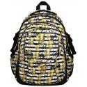 Trzykomorowy plecak szkolny St.Right 29 L, Tropical Party BP1