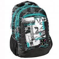 Plecak szkolny dla chłopca Paso, Snowboard Maui and Sons