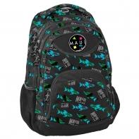 Plecak szkolny dla chłopca Paso, rekiny Maui and Sons