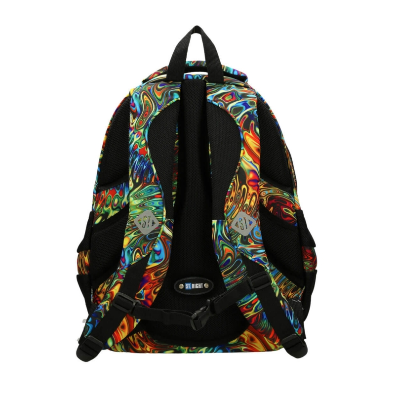 47fd2e26b54fc Trzykomorowy plecak szkolny St.Right 29 L, Abstraction BP2