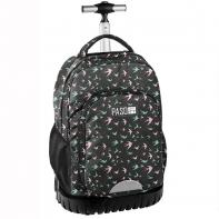 Plecak szkolny na kółkach Paso, jaskółki
