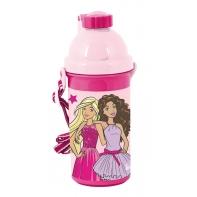 Bidon szkolny Barbie różowy, Paso