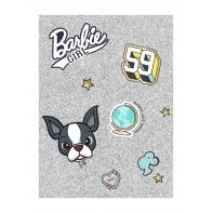 Pamiętnik / notes błyszczący A6 Barbie, Paso