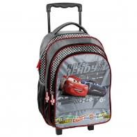 Plecak szkolny na kółkach Auta - Cars, Paso