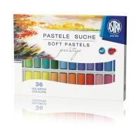 Pastele suche 36 kolorów Prestige Astra