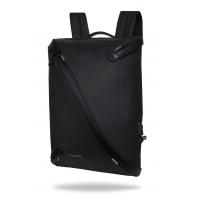 """Plecak męski na laptopa 13-15,6"""" + USB, R-bag Acro Black"""