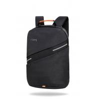 Plecak męski na laptopa i tablet + USB, Bunker Black R-bag