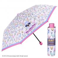 Krótka składana parasolka dziecięca Emoji, Lamy