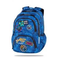 Plecak szkolny CoolPack Dart 25L, Badges Blue B19156