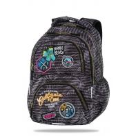 Plecak szkolny CoolPack Dart 25L, Badges Grey B19155