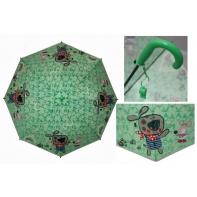 Parasolka dziecięca duża, automatyczna z gwizdkiem, piesek + myszka