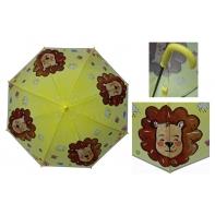 Parasolka dziecięca duża, automatyczna wesoły lew