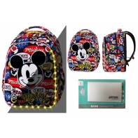 Plecak 21L Coolpack Joy S LED ©Disney Myszka Mickey + Powerbank