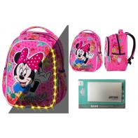 Plecak 21L Coolpack ©Disney Joy S LED Myszka Minnie + Powerbank