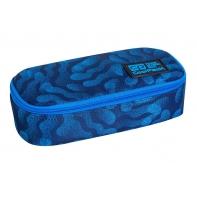 Usztywniany piórnik szkolny Coolpack Campus Blue Dream, C62182