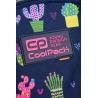 Plecak dwukomorowy 21L Coolpack Joy S, Cactus C48237