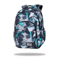 Młodzieżowy plecak szkolny CoolPack Basic Plus 24L Ink Print, C03170
