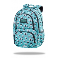 Dwukomorowy plecak szkolny CoolPack Spiner 24L, Pandas C01175