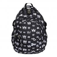 Trzykomorowy plecak szkolny St.Right 29 L, KORONY BP1