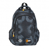 Dwukomorowy plecak szkolny St.Right 19 L, FOOTBALL BP26
