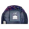 Dwukomorowy plecak szkolny St.Right 30 L, Hoops
