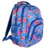 Dwukomorowy plecak szkolny St.Right 30 L, Garden
